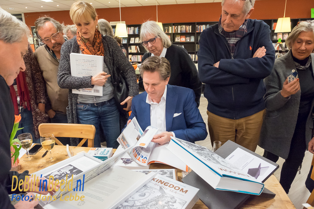 Bilthovense Boekhandel Kingdom by the Sea KLM Huisjes van Mark Zegeling