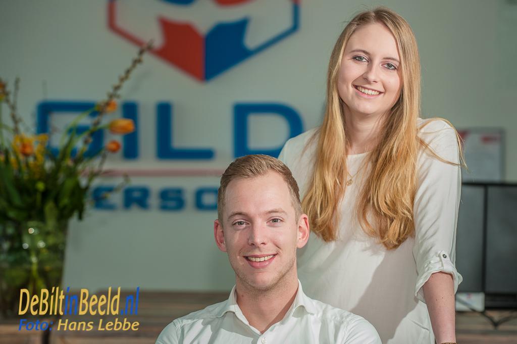 Erwin en Kim van GILDE Personeel Bilthoven