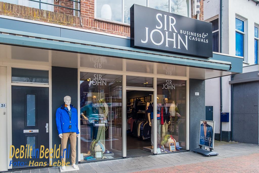 Sir John Bilthoven Menswear