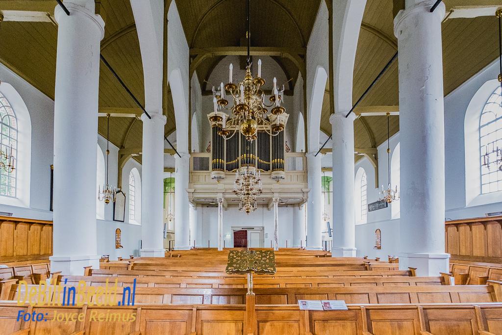 Kerk Westbroek fresco's