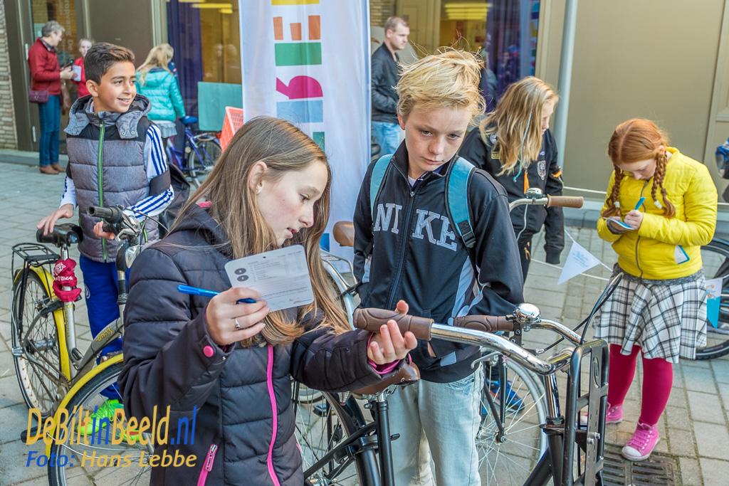 Mastwijk Fietsenkeuring bij Basisschool Wereldwijs Bilthoven