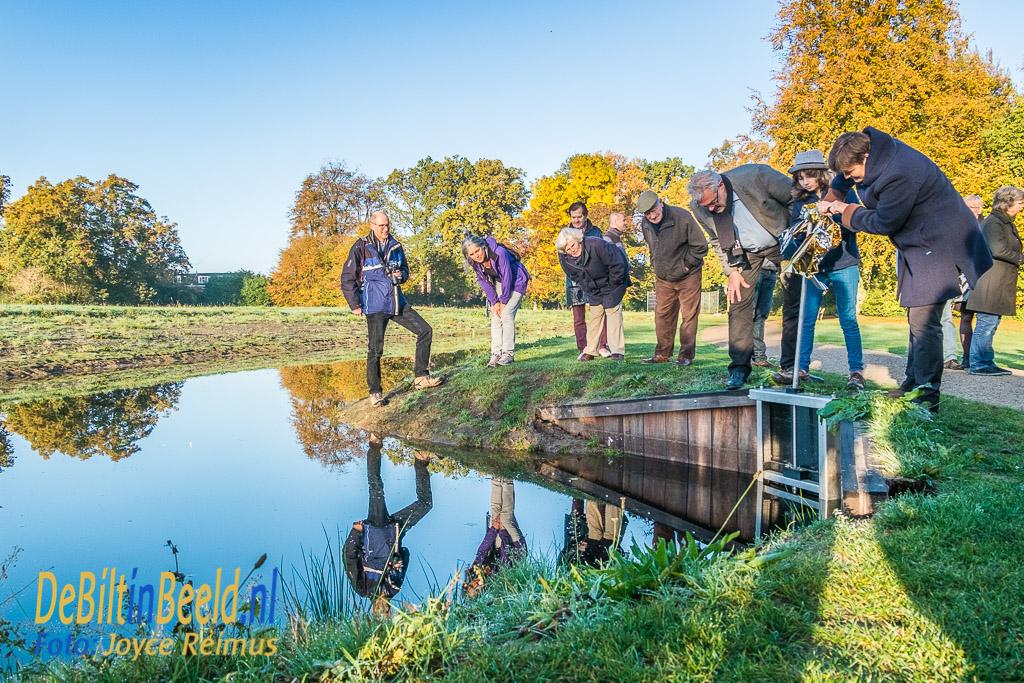 Opening waterverbinding van Boetzelaerpark