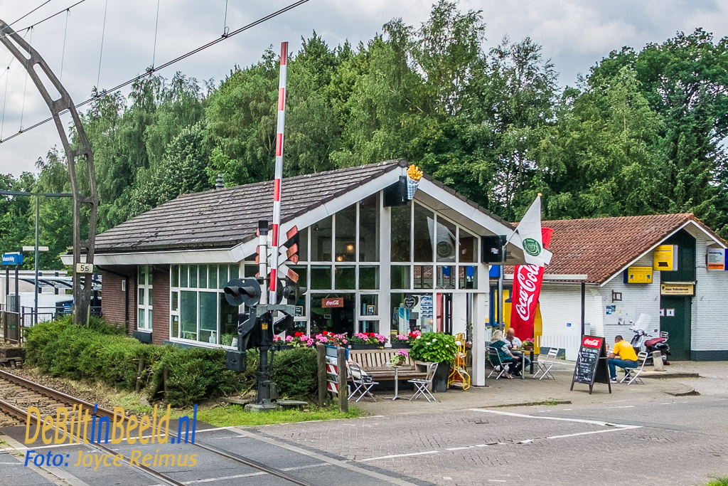 De kiosk van station Hollandsche Rading