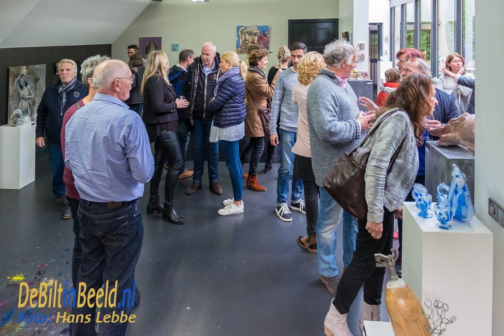 Vernissage Galerie Mi Bilthoven oktober 2016