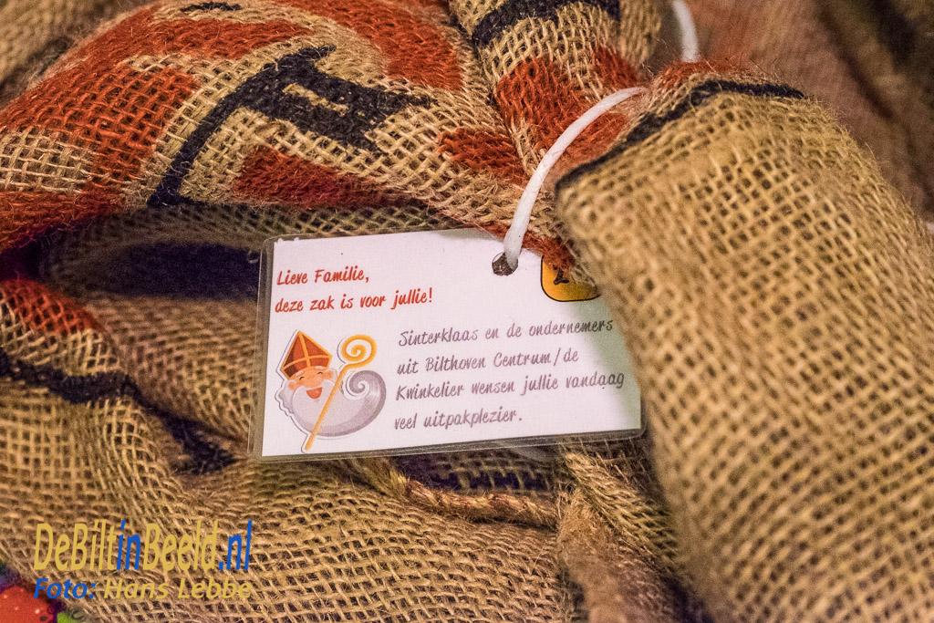 Sinterklaas presentjes voor gezinnen Voedselbank De Bilt