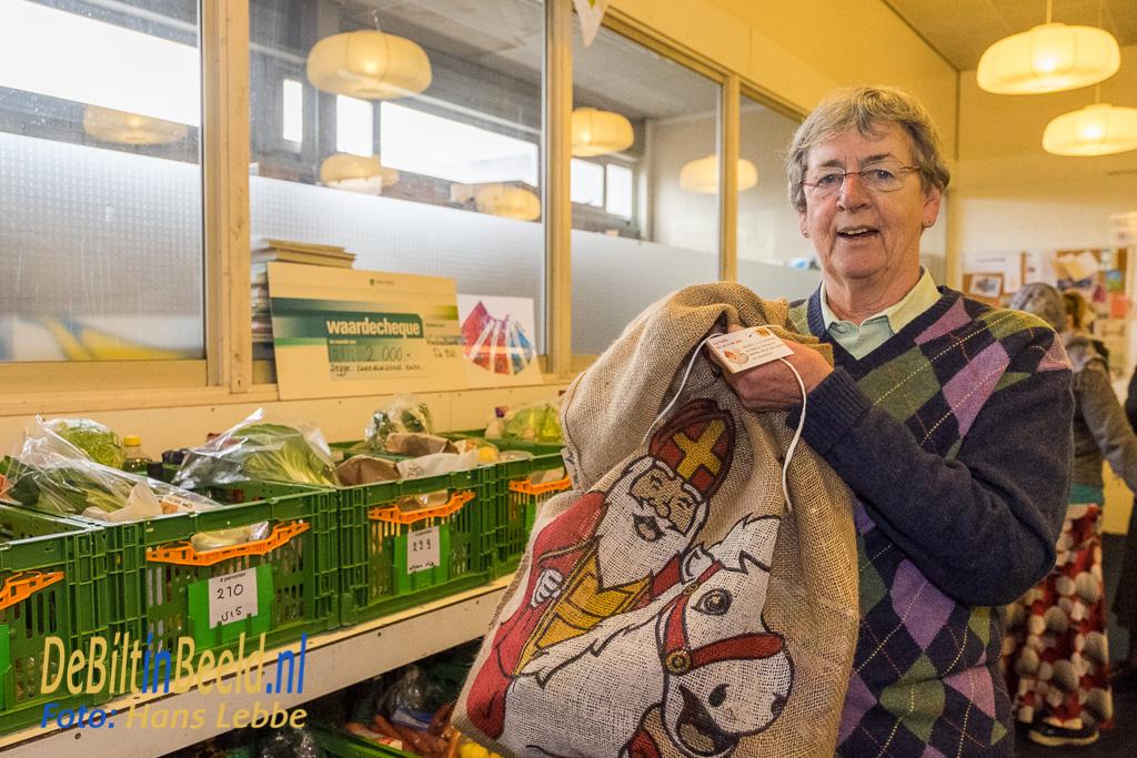 Sinterklaas presentjes voor kinderen van gezinnen Voedselbank De Bilt
