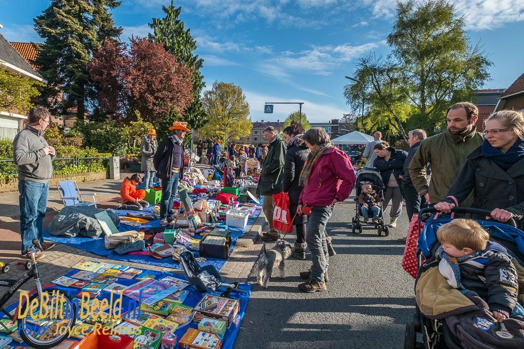 Kindervrijmarkt Hessenweg Koningsdag 2017