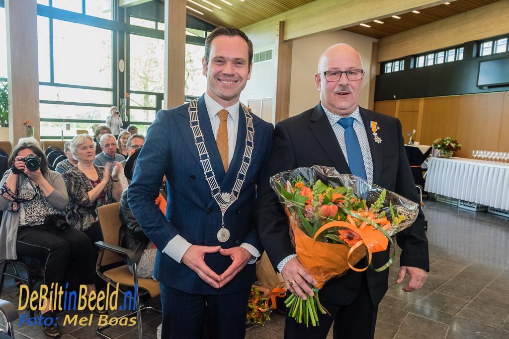 Koninklijke Onderscheidingen De Bilt 2017