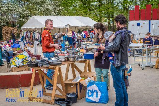 Scouting Ben Labre Rommelmarkt