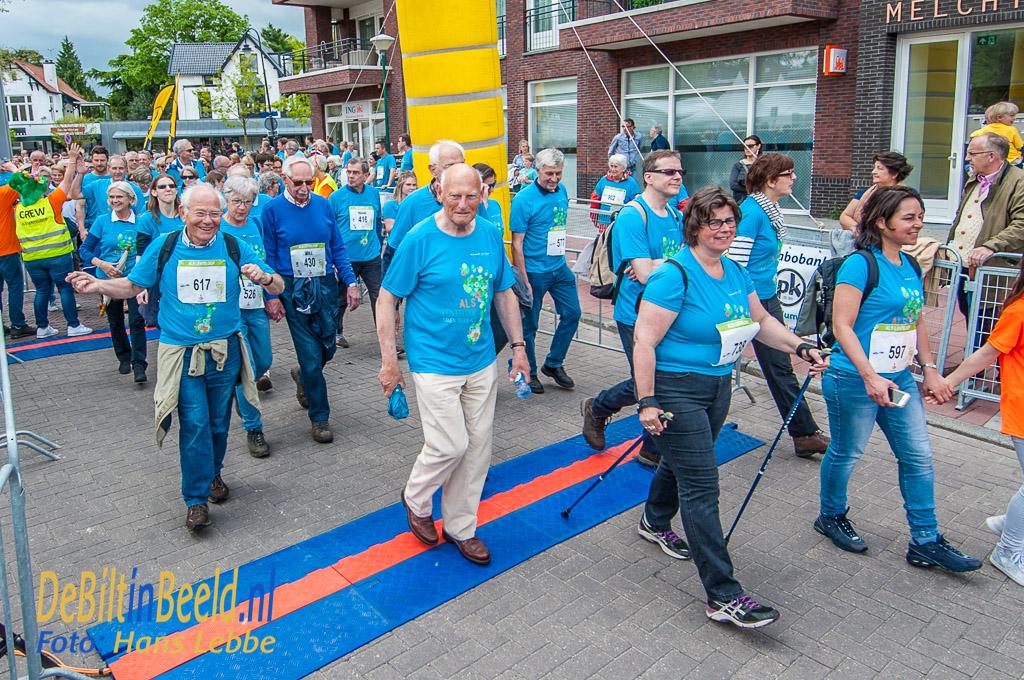 Rabobank ALS Lenteloop Bilthoven in 2017