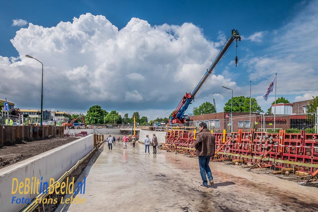 Dag van de Bouw Tunnel Leyenseweg Bilthoven