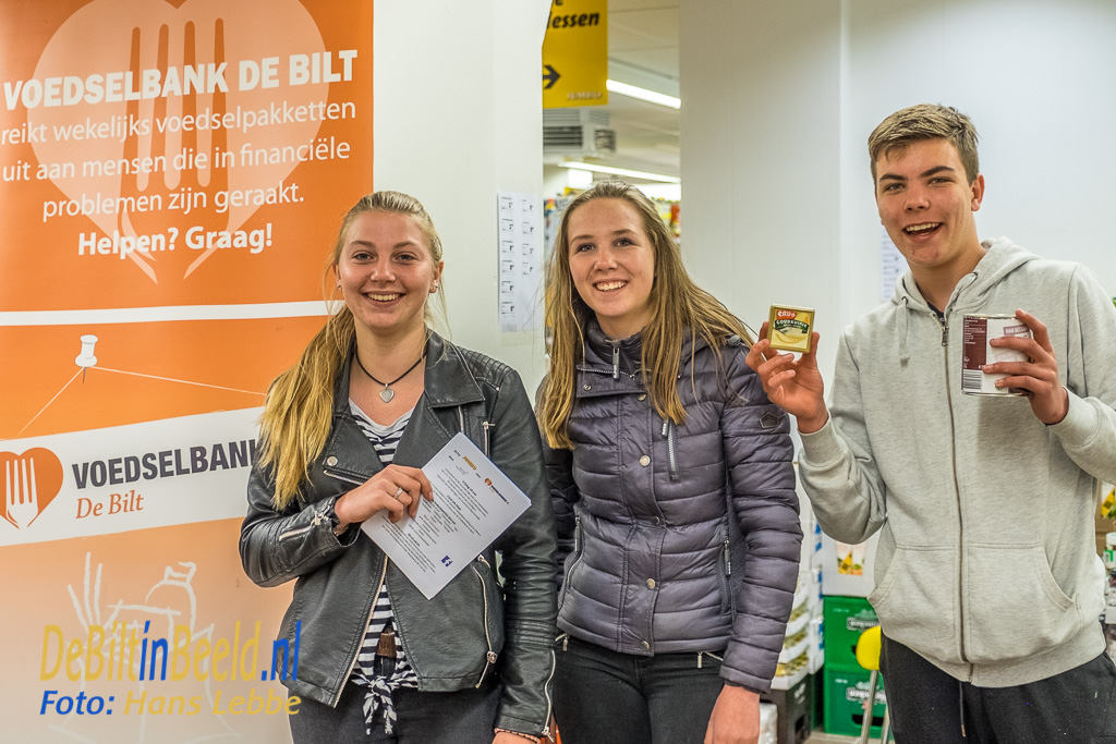 Voedselbank De Bilt JUMBO Actie met Groenhorst Maartensdijk