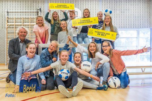Julianaschool Voetbal team Meiden