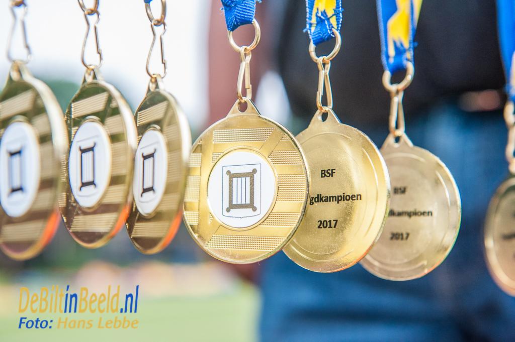Sportgala Jeugdteams De Bilt Medaille uitreiking BSF