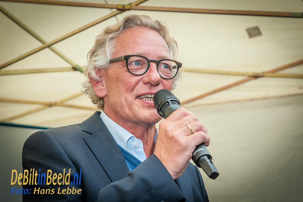 FAK-voorzitter Rob Heim trapte het jubileumweekend officieel af