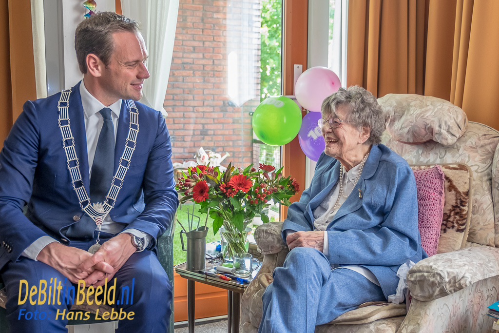 Mevrouw M-A Werner – de Boer 100 jaar