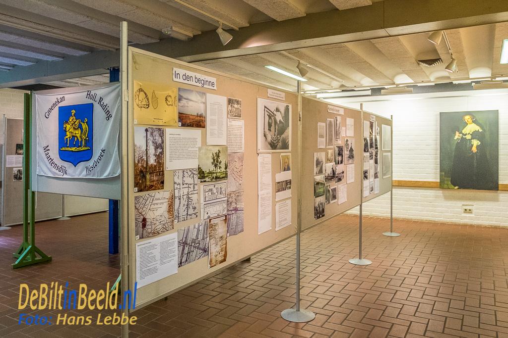 Historische Kring Maartensdijk Opening fototentoonstelling Groenekan