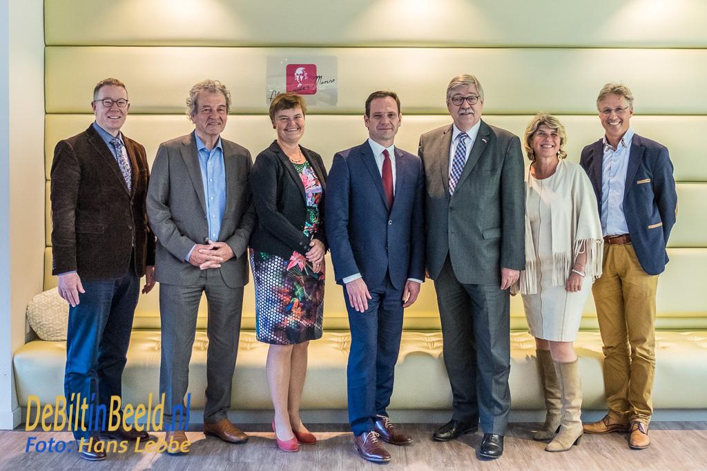 Werkbezoek Commissaris van de Koning Utrecht aan De Bilt