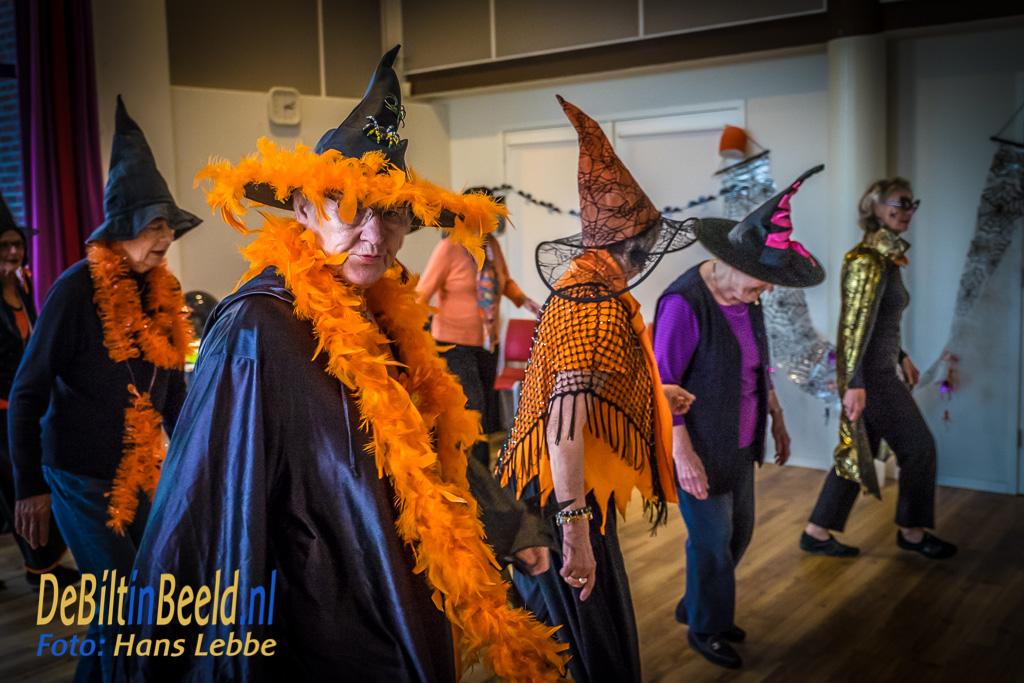 Halloween Linedance groep Restaurant Bij de Tijd
