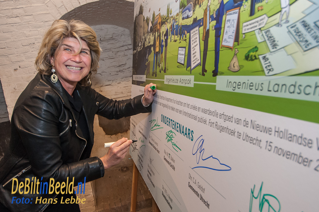 Ondertekening Pact van Ruigenhoek Nieuwe Hollandse Waterlienie