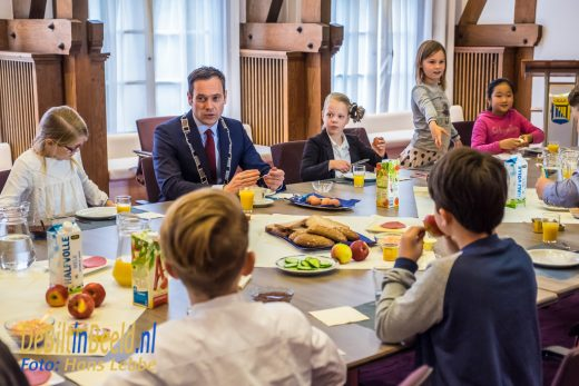 Schoolontbijt Bosbergschool Jagtlust Bilthoven Sjoerd Potters