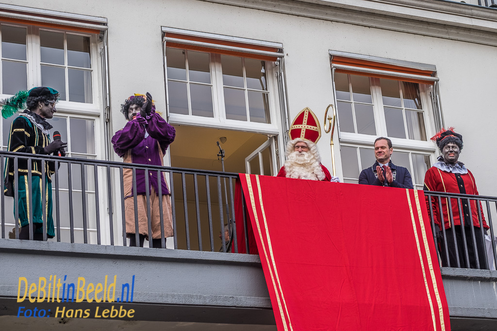 Sinterklaas Intocht Ontvangst Jagtlust Bilthoven