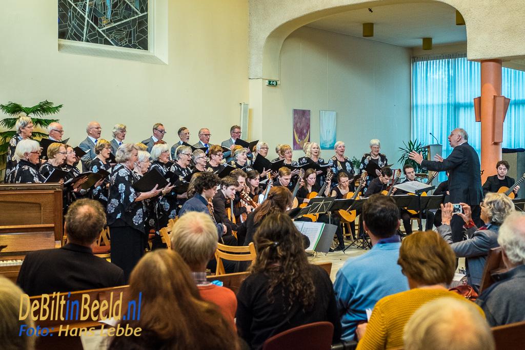 Zang Veredelt en Studenten Gitaar Ensemble Nederland Bilthoven