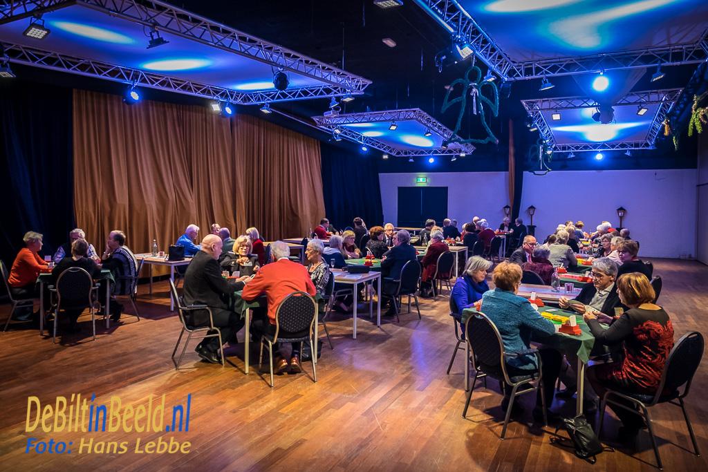 HF Witte De Bilt Kerstdiner Open Kaart Bridgeclub Bilthoven