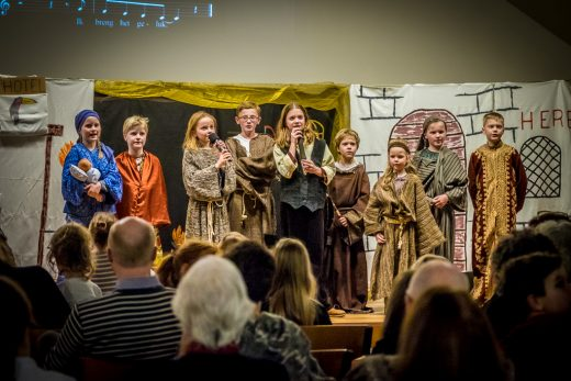 Kerst Kindernachtdienst Centrumkerk Bilthoven