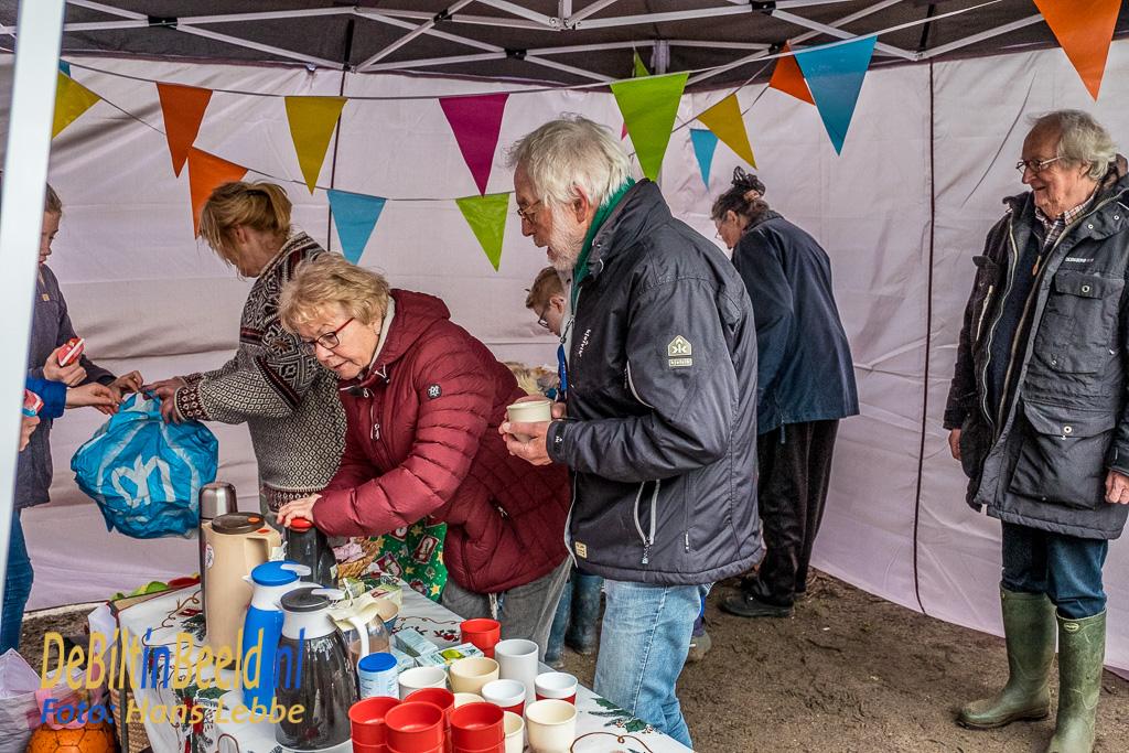 Olliebollenloop 2017 Leyense Bos Bilthoven