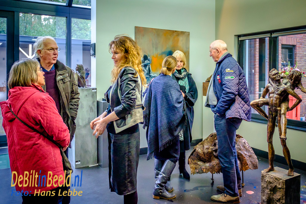 Galerie Mi Opening tentoonstelling januari 2018