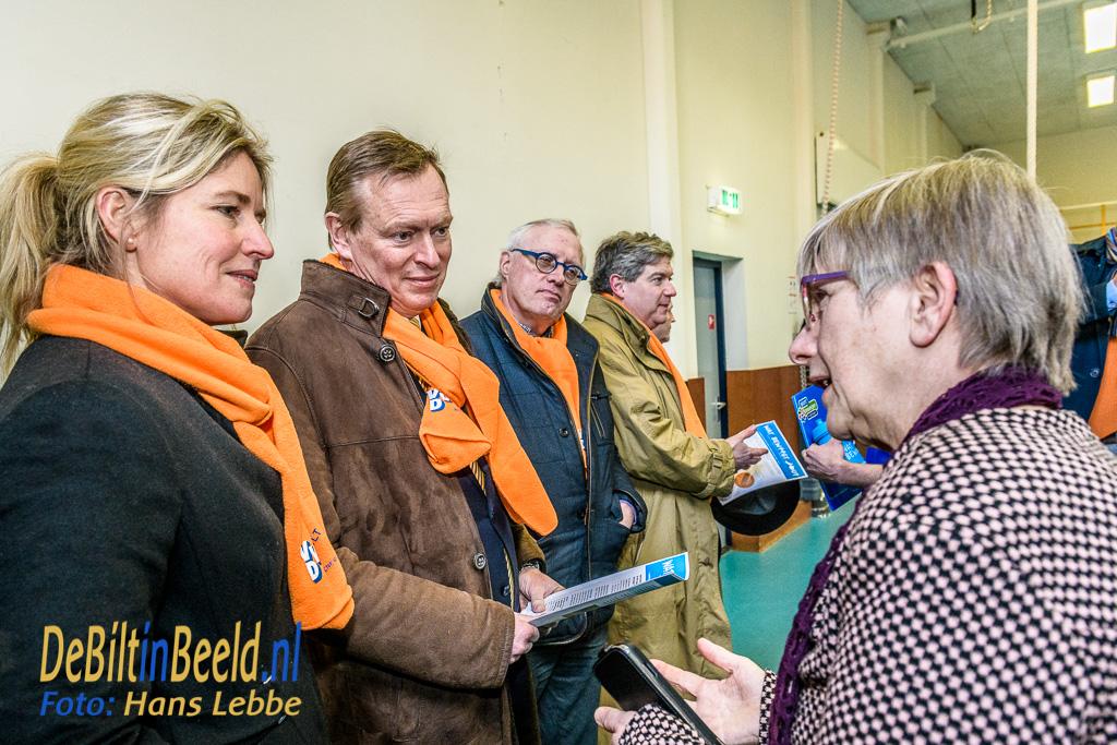 VVD De Bilt Minister Bruno Bruins op bezoek