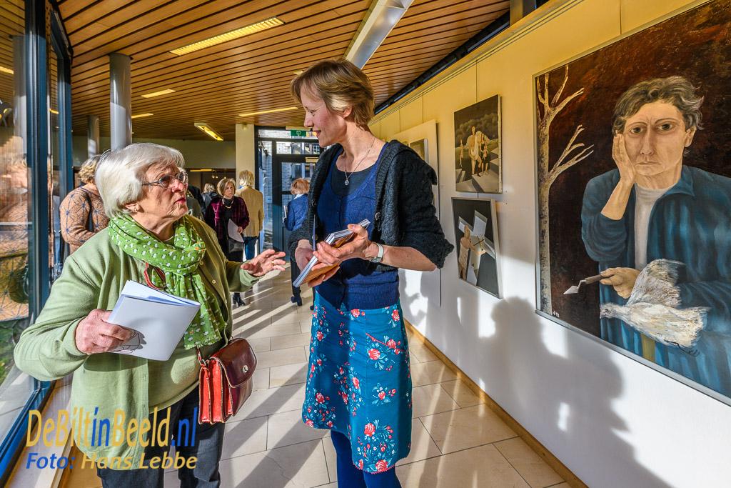 Arttraverse Bilthoven Nelleke Brons en Sanne van Tongeren