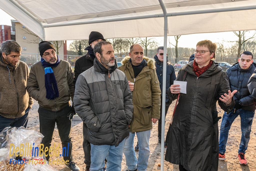 Eerste paal Islamitisch Centrum Bilthoven