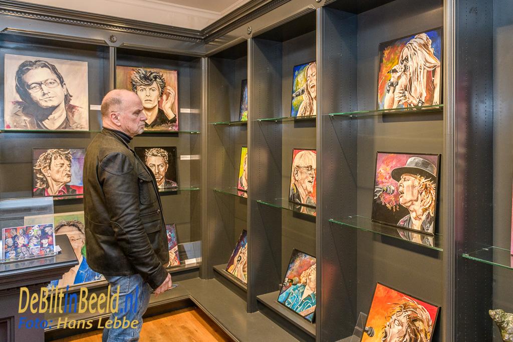 Els van Stratum opening expositie Bouwman Boeken De Bilt