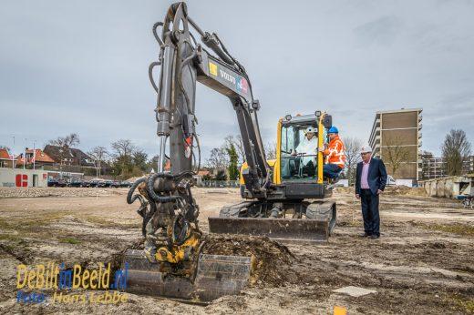 Start bouw Kwinkelier Fase 2 Bilthoven