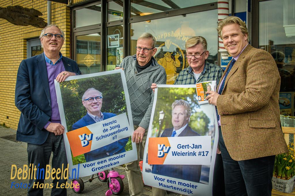 VVD Maartensdijk Groenekan lokale kandidaten