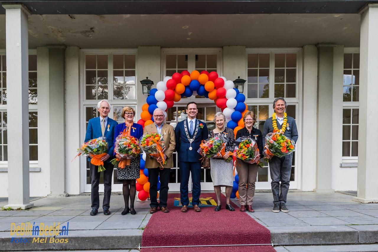 Lintjesregen in de gemeente de bilt. Op donderdag 26 april reikt burgemeester Potters om 10.00 uur in de Mathildezaal van het gemeentehuis zes Koninklijke Onderscheidingen uit aan inwoners van gemeente De Bilt.