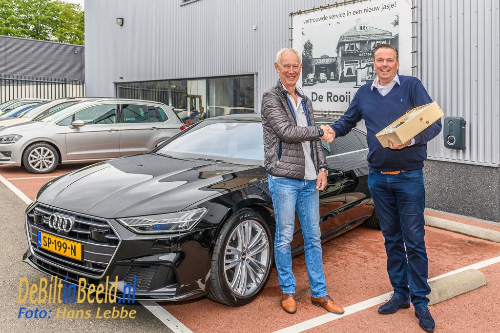De Rooij afleveren Audi A7 Bilthoven