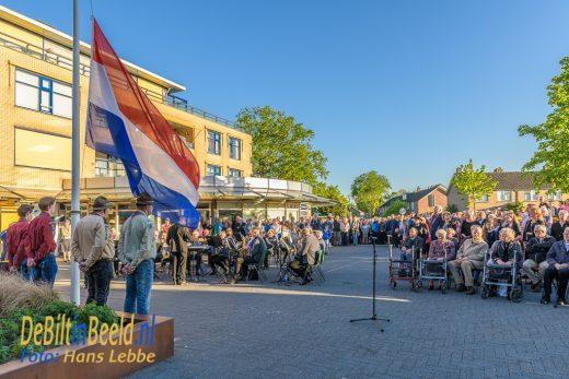 Dodenherdenking 4 mei 2018 Maartensdijk
