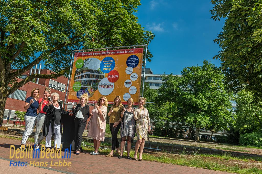 Kinderopvang t-Mereltje startschot Nieuwbouw Julianalaan Bilthoven
