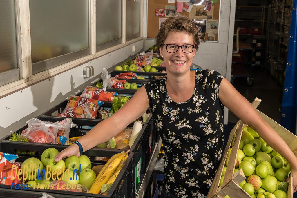 MENS De Bilt Vrijwilliger Karina de Jong Voedselbank De Bilt