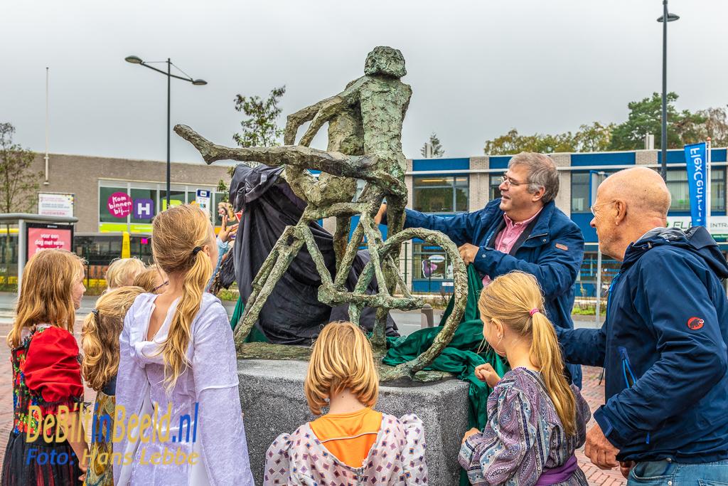 Onthuilling Fietsspel Jits Bakker Station Bilthoven