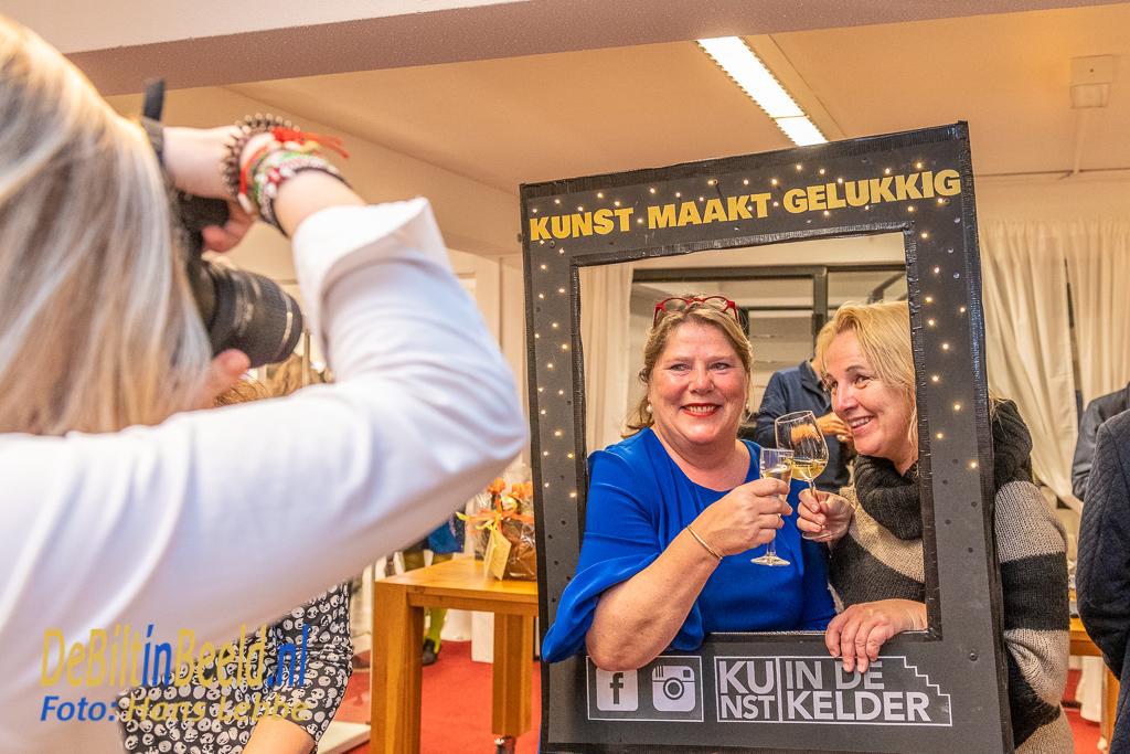 Kunst in de Kelder Bilthjoven officieel geopend
