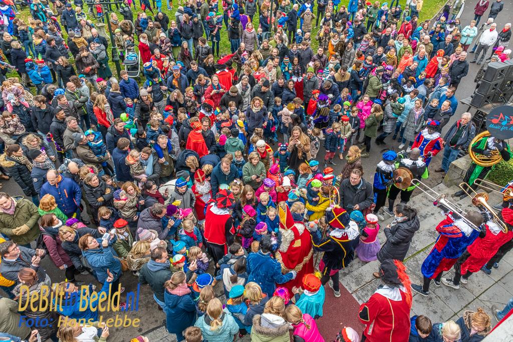 Sinterklaas intocht Bilthoven Jagtlust met Burgemeester 2018
