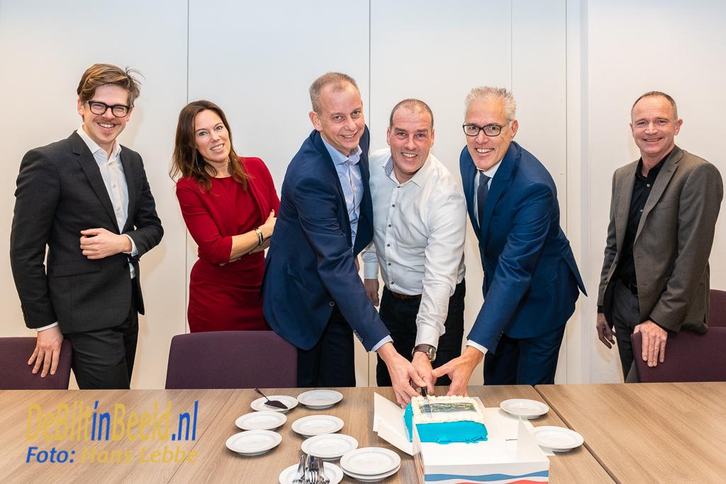 Gemeente De Bilt SSW Ondertekening Nieuwbouw Melkweg Bilthoven
