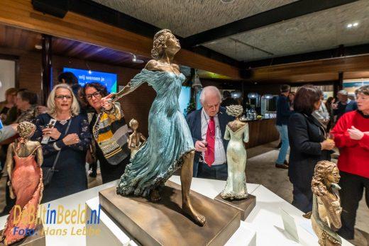 WVT Biithoven Kunst Uit Eigen Provincie Opening door Burgemeester Potters