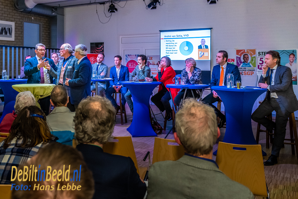 Debat Porvinciale Verkiezingen Utrecht Maartensijk De Biilt