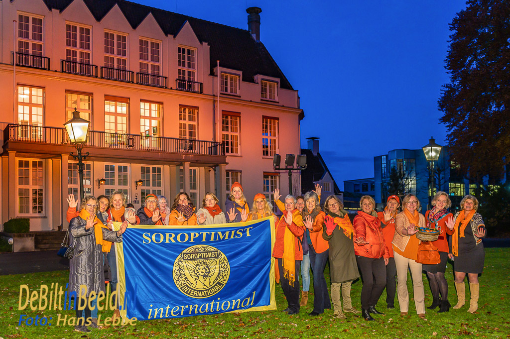 Orange the World Soroptimistclub De Bilt Bilthoven