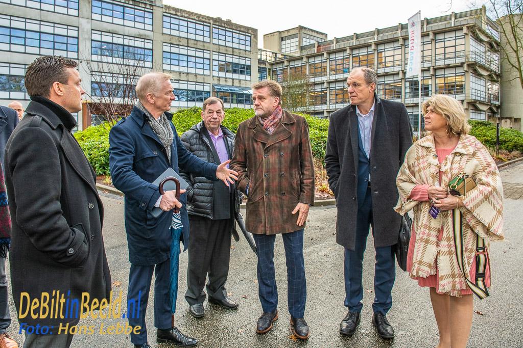 Bezoek Gedeputeerde Robert Strijk aan USPB; Gedeputeerde Robert Strijk bezoekt Utrecht Science Park Bilthoven